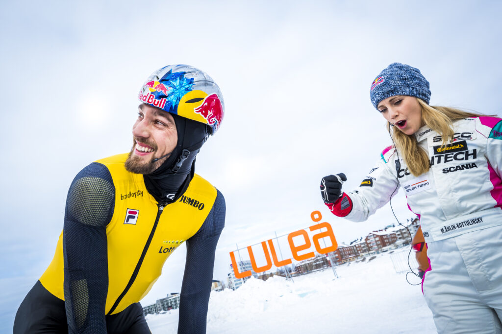 Kjeld Nuis attending the Quest For Speed in Lulea, Sweden on March 28, 2018 // Marcel van Hoorn / Red Bull Content Pool // SI201803290082 // Usage for editorial use only //